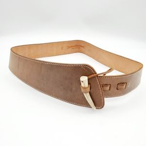 Banana Republic made in England leather belt